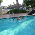 Kids loved the pool