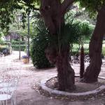 Tuin van het hotel
