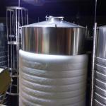 Fermenation tank for sweet wines