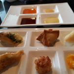 Thai and Japanese appetizers
