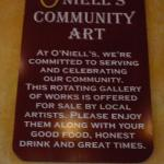 Supports local artists