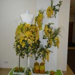 überall Blumenschmuck im Hotel - wunderschön :-)