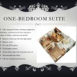 One Bedroom Suite Floor Plan