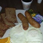 bangers and eggs