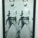 Elvis on the wall