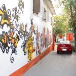 Estacionamento cortesia para carros e motos