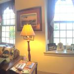 Front parlor at the Mill House