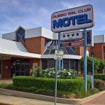 Motel entrance