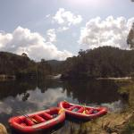 Lunch time on the Mitta Mitta