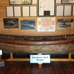 Artifacts and items on display at the Maritime Society Marina next door to the Oyster Bay Cafe,