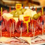 Gourmet Cold Cuts and Cheese Platter