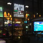 Front entrance to Spicco