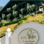 Hotel Pfeifer Begrüssungsschild