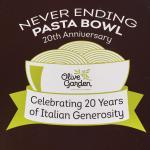 Never Ending Pasta Bowl season!