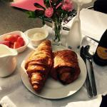 Celebration breakfast in bed!