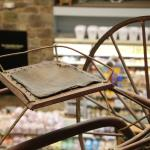 Antiques are displayed throughout the store, providing for a unique shopping experience.