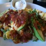 Grande Huevos Rancheros with no tortilla... Amazing!!