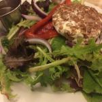 Awesome Goat Cheese salad