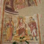 Un fresco de la Iglesia de San Felice