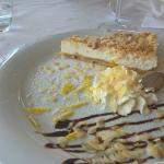 Lemon cheese cake