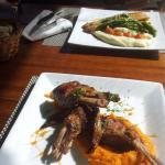Rack de cordero, Bife de pescado