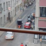 View of Saint Paul and Boul St-Laurent from bedroom
