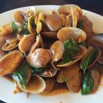 Clams in Thai Basil & Chilli