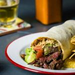Chipotle Grilled Steak Burrito