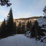 Gorgeous Winter Wonderland On Way To E-Pass