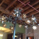Nice chandelier!