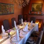 Erna's Elderberry House Restaurant - private dining room