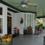 Front Porch of McFarlin House