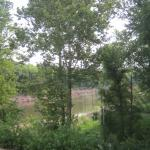 View of Sangamon River From Upper Lodge window