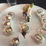 Philadelphia Roll, Shrimp Tempura Roll, Crab Roll