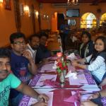 At the Ganesha during Lunch time