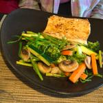 Sea bass--I tasted it--delicious