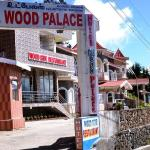 Front View of Wood Palace