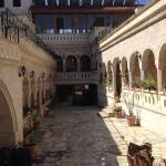 Cour de l'hôtel