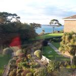 View from Totland room