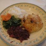 My cod dinner