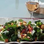 Lamb's lettuce salad