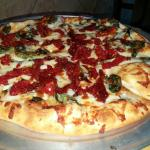 Pizza 10' 12.00 The works calzone 13.25