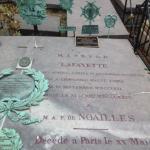 Tombe de La Fayette