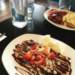 Choc Sensation Pancakes