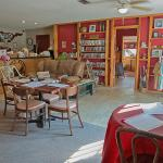 Dining, Lending Library and movie rentals