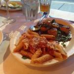 Saute Scallops with Pasta