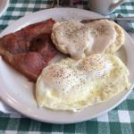 Yummy breakfast at the Dunlap Restaurant!