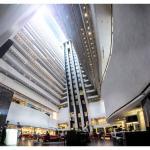 Hilton Brisbane Atrium Lobby