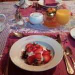 Beginning breakfast right