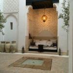 Central area of Riad